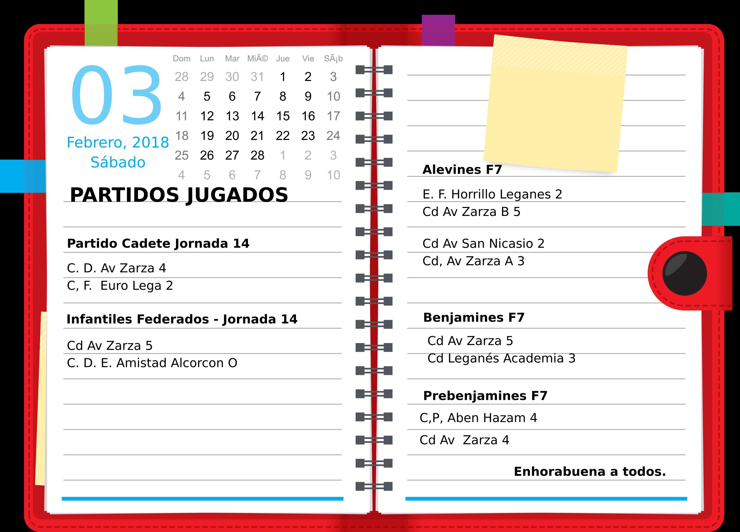 Agenda resultados_11_Febrero_2018